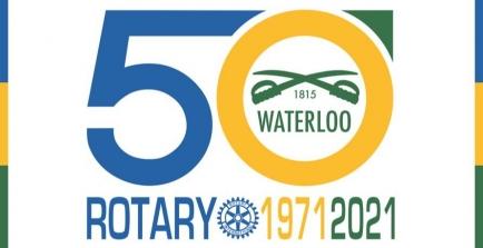 Anniversaire des 50 ans d'existence du Rotary Club de Waterloo