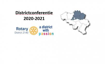 De  eerste Districtconferentie van D2140.